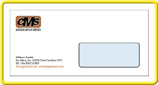 Cms stampa carta intestata e buste intestate buste a sacco - Buste 11x23 senza finestra ...